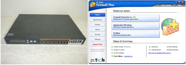 Set Up and Maintain a Firewall